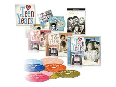 CD The Teen Years 60's (8 CD's + 2 DVD's)