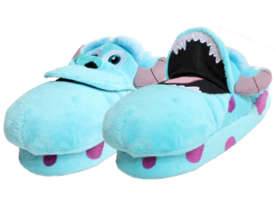 Stompeez Disney Sulley Slippers Size M (31-33)