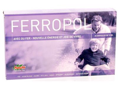 Plantapol Ferropol (20x 10 ml)