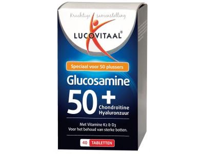 Lucovitaal Glucosamine 50+ Chondroïtine Hyaluronzuur (40 tabletten)