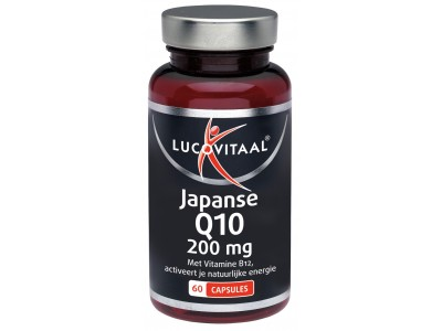 Lucovitaal Japanse Q10 200 mg (60 caps)