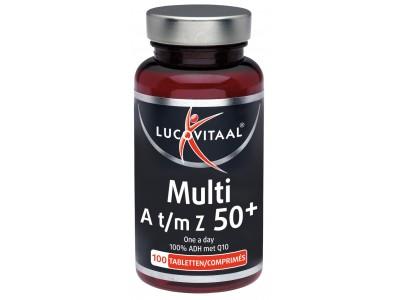 Lucovitaal Multi A-Z 50+ (100 tabletten)