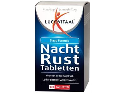Lucovitaal Nachtrusttabletten (100 tabletten)