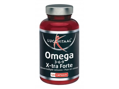 Lucovitaal Omega 3-6-9 complex (120 tabletten)