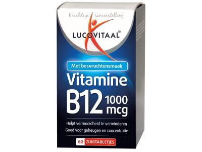 Lucovitaal Vitamine B12 tabletten (60 tabletten)