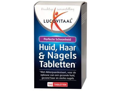 Lucovitaal Huid, Haar & Nagels Tabletten (100 tabletten)