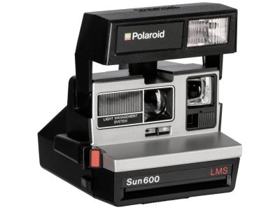 Polaroid 600 camera 80s style refurbished