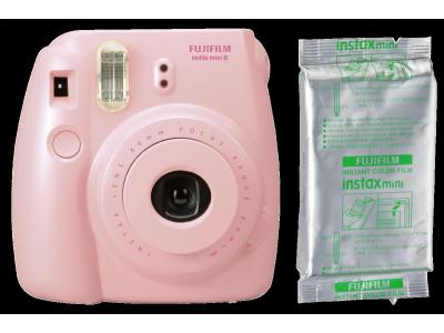 Fujifilm Instax Mini 8 Set roze