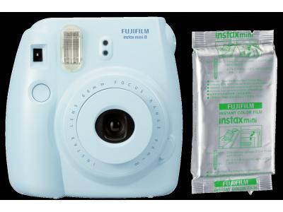 Fujifilm Instax Mini 8 Set blauw