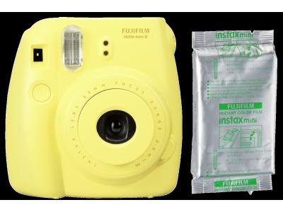 Fujifilm Instax Mini 8 Set geel
