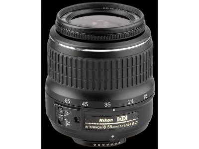 Nikon AF-S DX 3,5-5,6/18-55 ED II Zwart