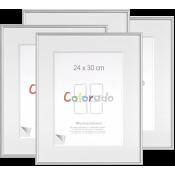 1x4 Nielsen Accent Colorado Uni 24x30 kunststof lijst zilver