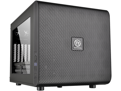 Thermaltake behuizing Core V21/Black/Win/SECC