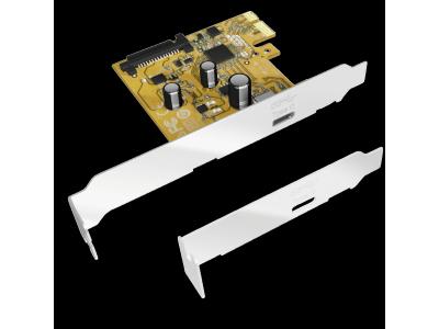 Raidsonic IB-U31-01 1-Port USB PCI Express Card