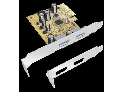 Raidsonic IB-U31-U2 2-Port USB PCI Express Card