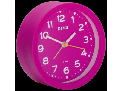 Mebus 27210 roze kwarts wekker