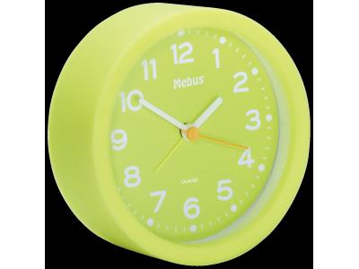 Mebus 27212 groen kwarts wekker