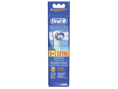Braun Oral-B opzetborstels Precision Clean 8+2