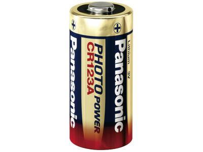 1x10 Panasonic Photo CR-123 A Lithium     VPE binnenverpakking