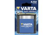 10x1 Varta High Energy 3 LR 12 4,5V-Block  VPE binnenverpakking