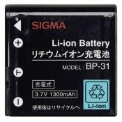 Sigma BP-31 Li-Ion accu