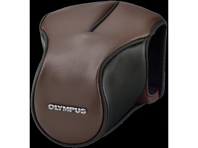 Olympus CS-46FBC Tas bruin voor E-M5 Mark II