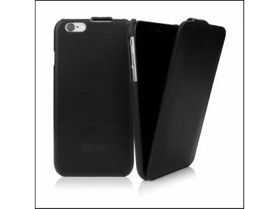 CASEual Leather Flip iPhone 6s, Italian Black