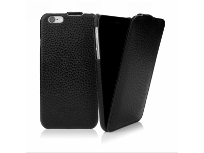 CASEual Leather Flip iPhone 6s, Classic Black
