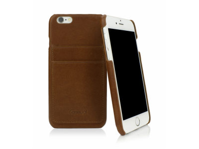 CASEual Leather Back iPhone 6s, Italian Brown
