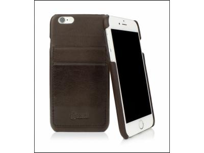 CASEual Leather Back iPhone 6s, Italian Mocca