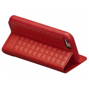 SENA Cases Isa Quilted Wallet Book iPhone 6 / 6s rood