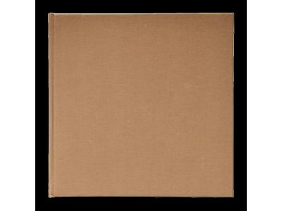 Henzo MIKA linnen album  24,5x25 50 witte pag. bruin 11.305.06