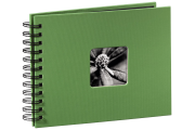 Hama  Fine Art  spiraal groen 24x17 50 zwarte pagina's 94880