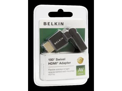 Belkin 180° Swivel HDMI adapter zwart F3Y039bf