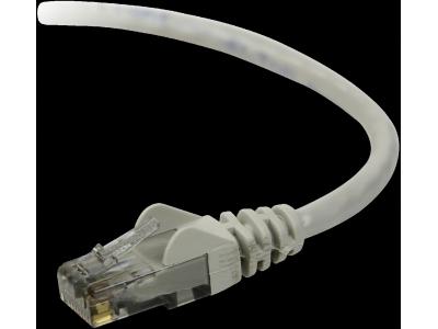 Belkin CAT 5 e Netwerkkabel 3,0 m UTP grijs Snagless