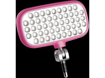 Metz mecalight LED-72 smart roze