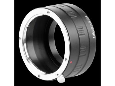 Kipon Adapter Nikon G objectief aan Sony E Mount camera