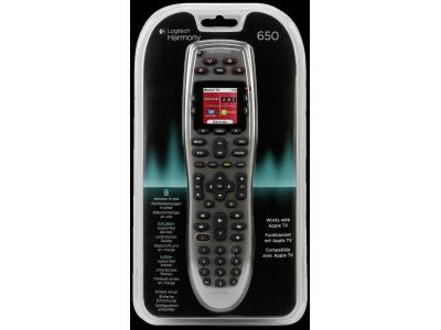 Logitech Harmony 650 IR afstandsbediening