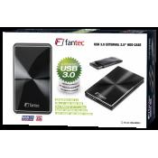 FANTEC DB-229 U3 Zwart 750GB 2,5  USB 3.0