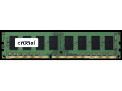 Crucial 8GB DDR3L 1600 MT/s VLP PC3-12800 RDIMM 240pin DR x8