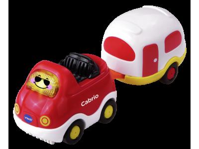 VTech Tut Tut Baby auto's cabrio & caravan