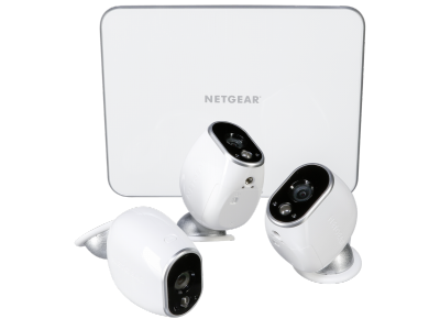 Netgear Arlo VMS3330 Smart Home Webcam Set 3 HD camera's