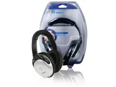 Hoofdtelefoon Over-Ear 3.5 mm Bedraad 6 m Zilver / Zwart