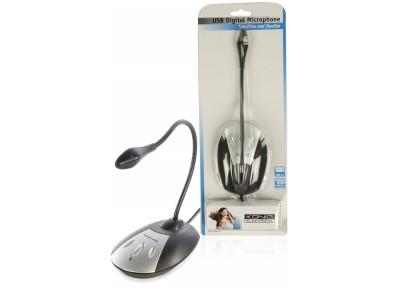 Flexibele USB-Desktopmicrofoon