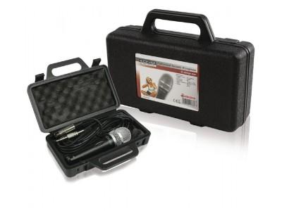Bedrade Microfoon 6.35 mm Zwart / Grijs