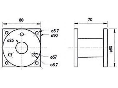 Adapter voor driver hoorn systemen