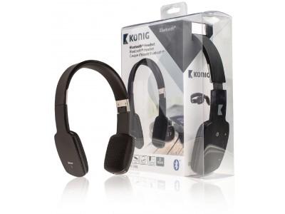 Bluetooth headset zwart
