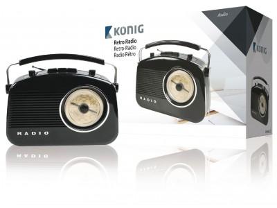 Retrodesign AM/FM-radio