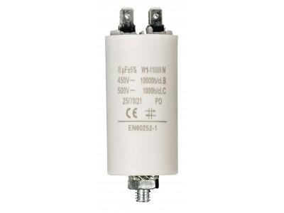 Capacitor 450V + Earth Origineel Onderdeelnummer 8.0uf / 450 v + earth