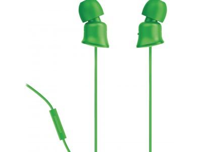 Hoofdtelefoon In-Ear 3.5 mm Bedraad Groen